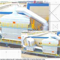 定型機廢氣治理 4萬風量油煙廢氣淨化器