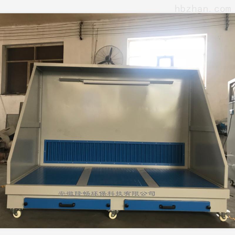 铝合金配件抛光打磨除尘台/除尘工作台