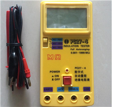 ljpc27-4PC27-4数字式自动量程绝缘电阻表