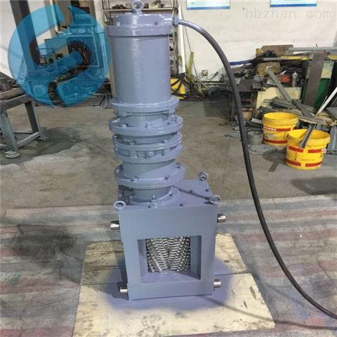铸钢粉碎格栅除污机