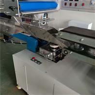 自動輸送枕式套膜包裝機 麵包封口熱縮機械