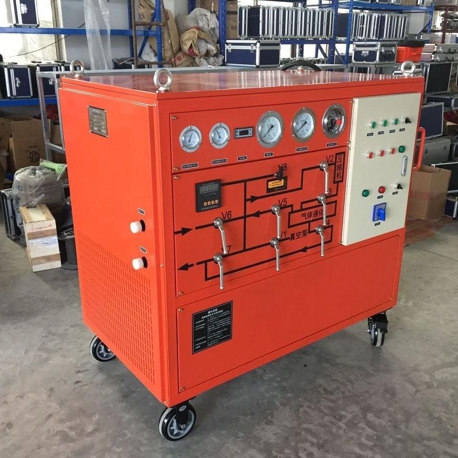 SF6气体抽真空充气装置GIS真空泵制造商
