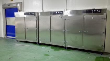 臭氧消毒柜-食品制药厂工作服、包材消毒案例