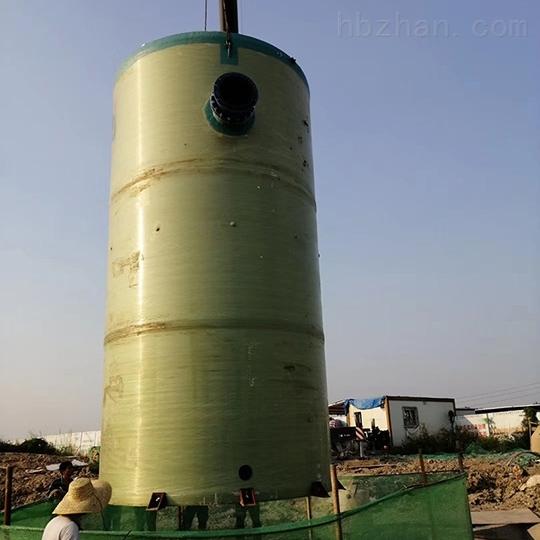 安装一体化预制泵站