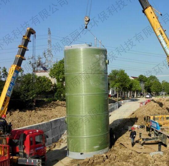 长沙一体化预制泵站的安装步骤