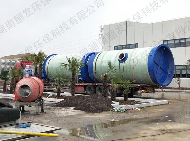 乡村一体化污水泵站