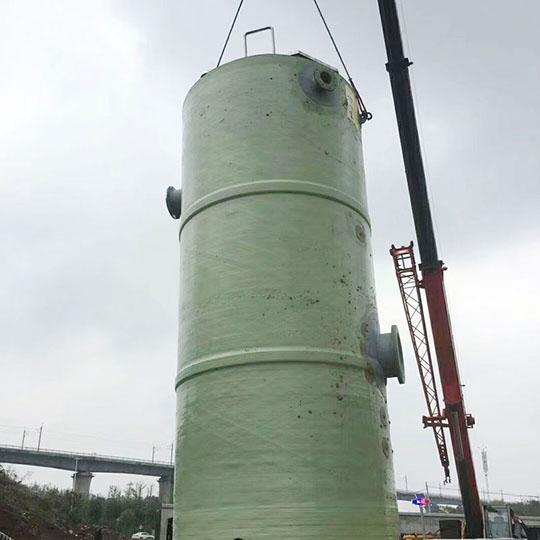 益阳地埋式一体化预制泵站