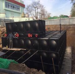 无浮式泵站