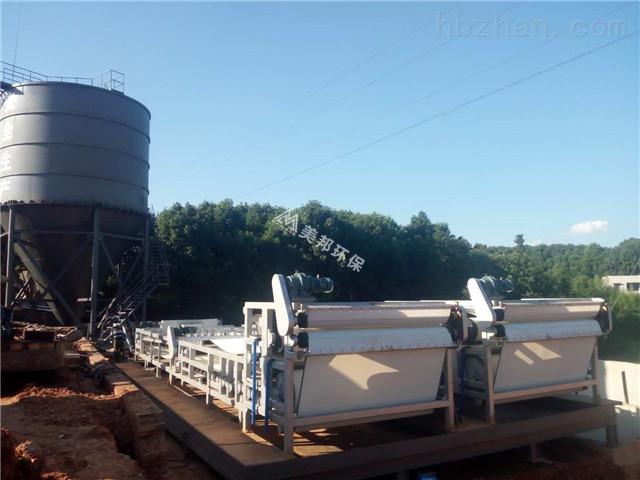 佛山地铁盾构泥污泥脱水设备厂家