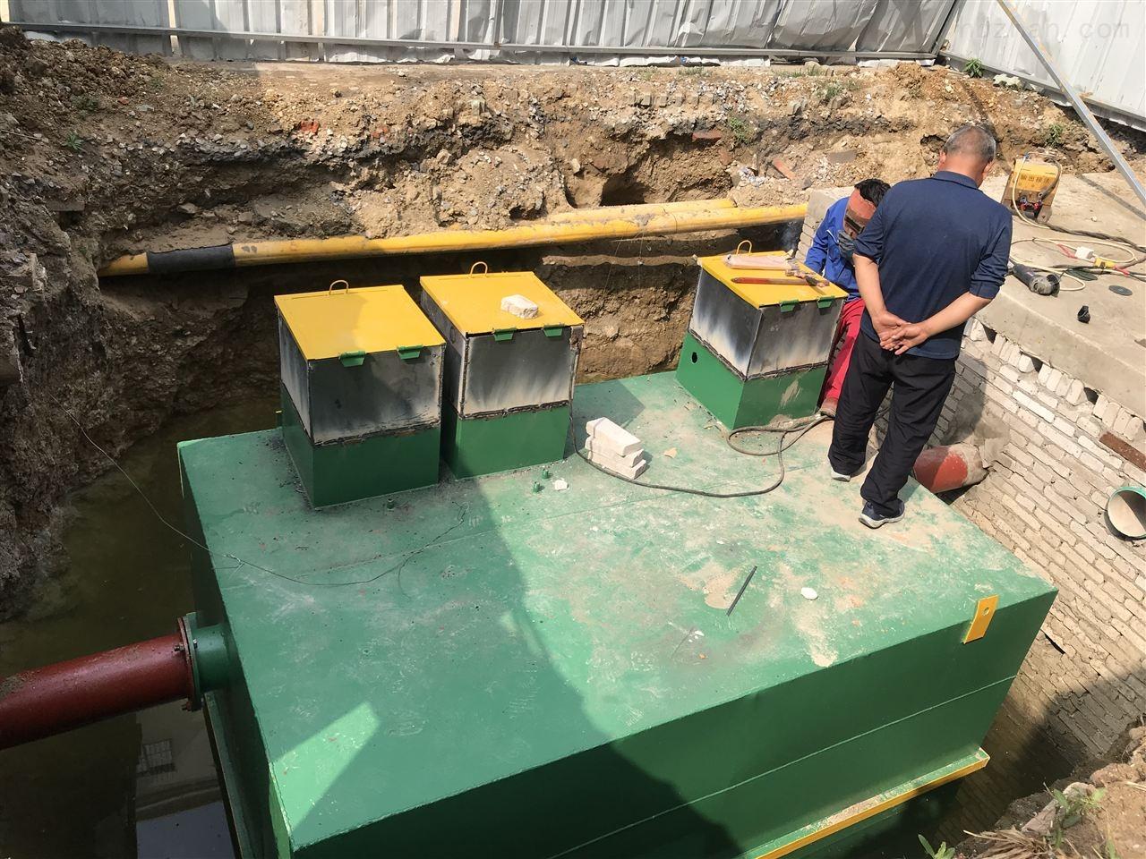 日喀则服务区污水处理设备选型