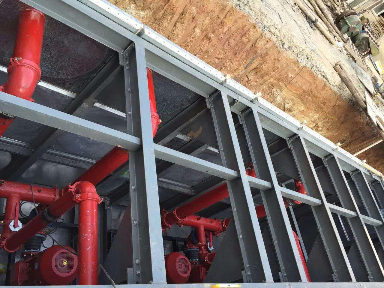 抗浮地埋箱泵一体化厂家CCCF认证AB标签
