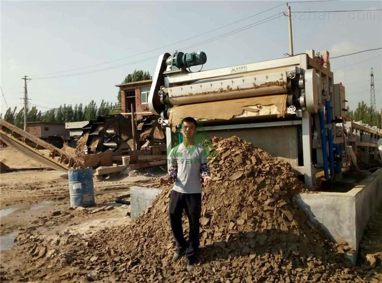 佛山鹅卵石制砂污泥脱水处理