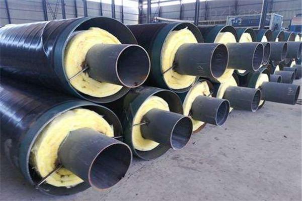 九江蒸汽钢套钢预制直埋保温管供应商