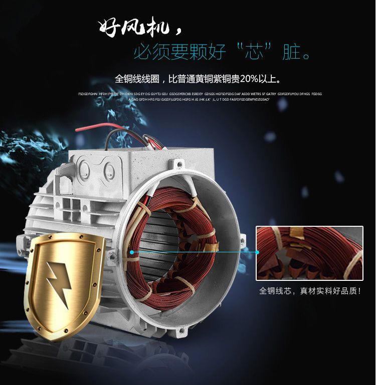 厂家3KW高压风机漩涡气泵 注塑机高压漩涡鼓风机示例图7