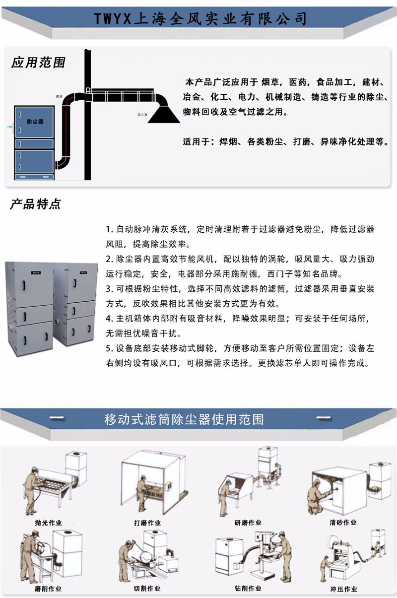 粉尘打磨吸尘器,粉尘打磨除尘器,粉尘打磨收集器示例图13