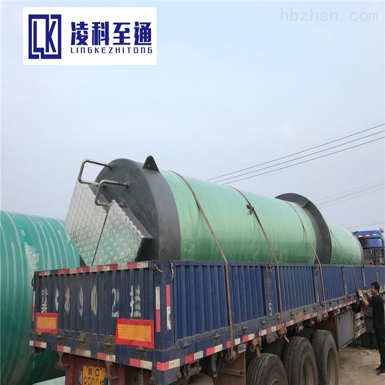 智能一体化泵站一体化污水预制泵站预制式一体化提升泵站