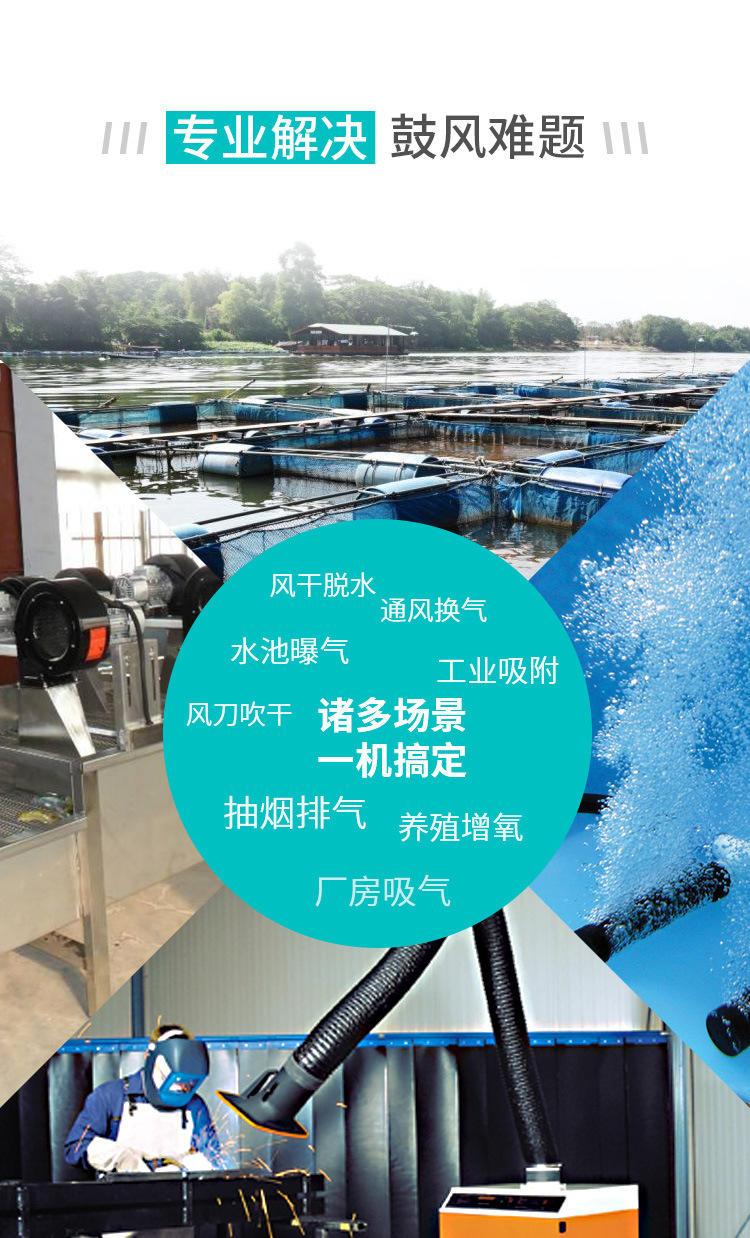 厂家3KW高压风机漩涡气泵 注塑机高压漩涡鼓风机示例图11