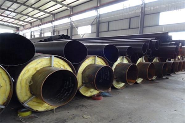 济南内钢套钢直埋保温管厂家现货