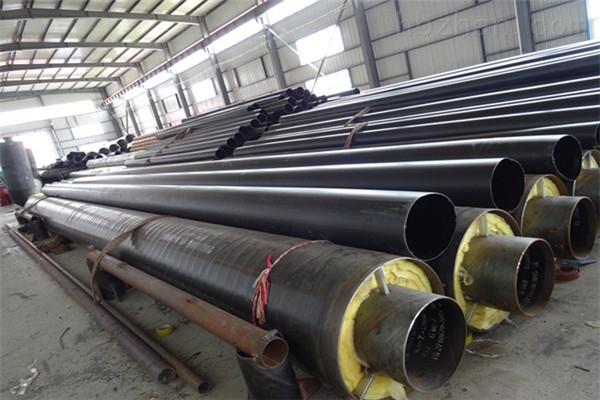 克拉玛依钢套钢埋地式蒸汽保温管加工