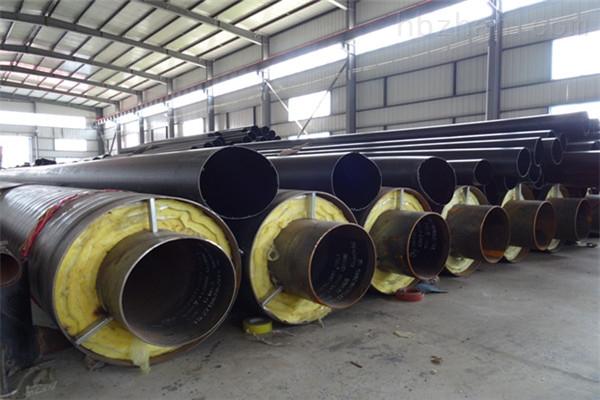台州蒸汽钢套钢预制直埋保温管厂家价格