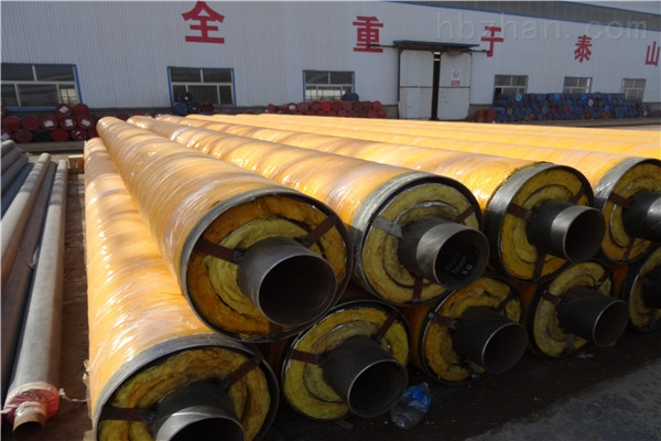 阿勒泰地区钢套钢蒸汽复合保温管直销厂家