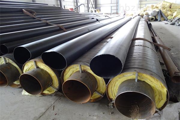 沈阳蒸汽钢套钢预制直埋保温管供应