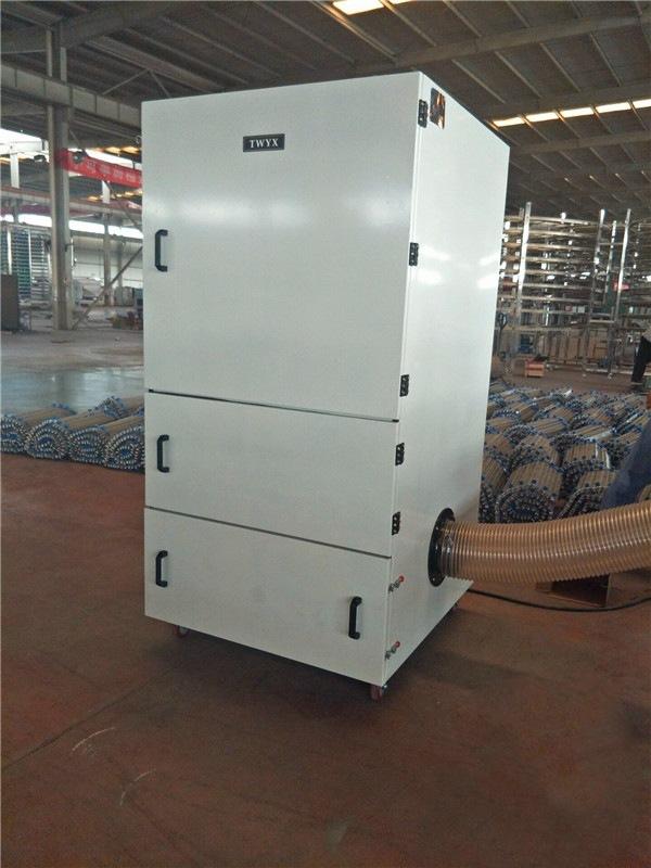 机床废屑除尘器 磨床粉尘吸尘器 柜式工业吸尘器 磨床吸尘器示例图25