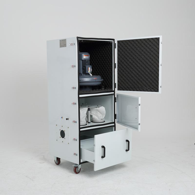机床废屑除尘器 磨床粉尘吸尘器 柜式工业吸尘器 磨床吸尘器示例图4