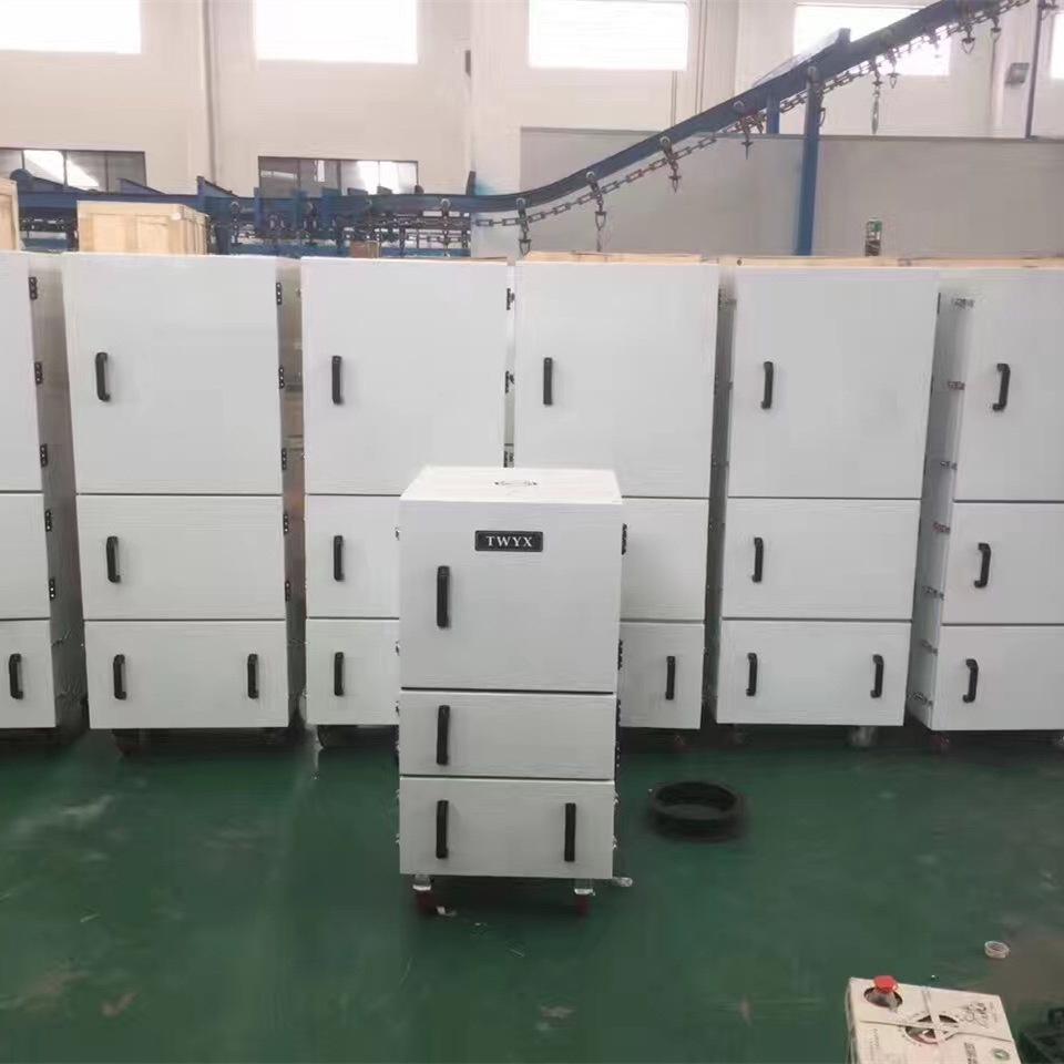 机床废屑除尘器 磨床粉尘吸尘器 柜式工业吸尘器 磨床吸尘器示例图5