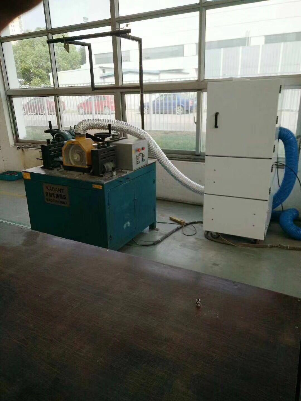 机床废屑除尘器 磨床粉尘吸尘器 柜式工业吸尘器 磨床吸尘器示例图16