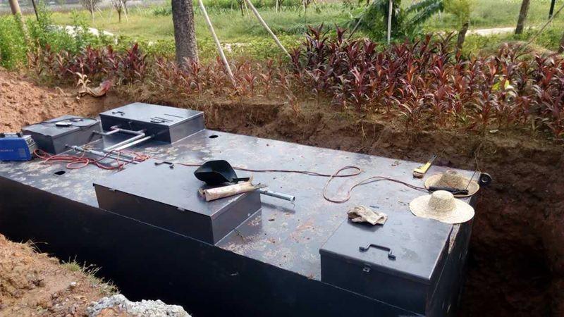 阿里学校餐厅污水处理设备