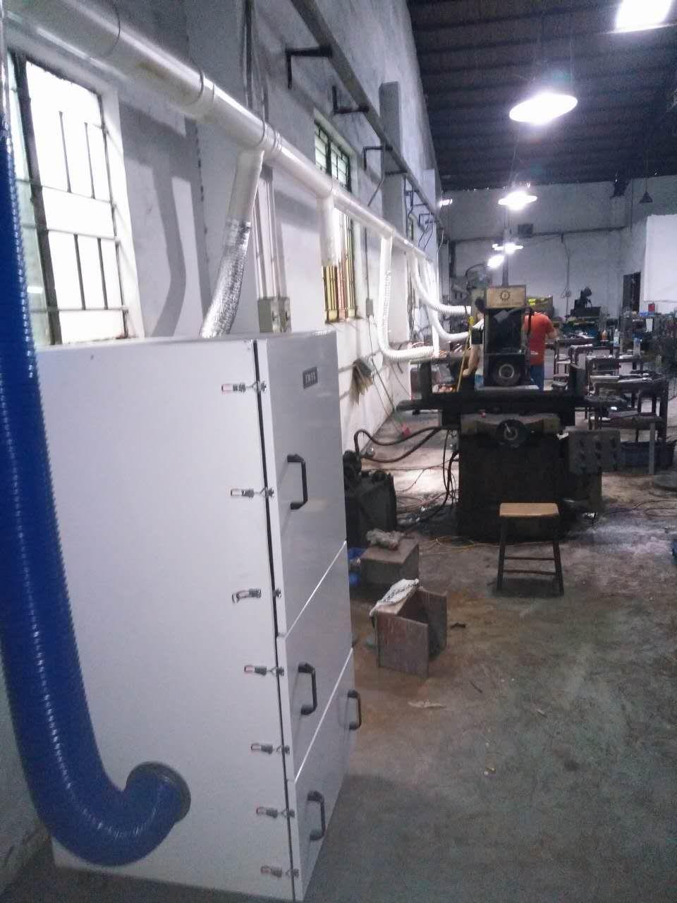 1.5KW新款磨床集尘器 低噪音磨床吸尘器 磨床打磨除尘器 工业集尘机示例图24