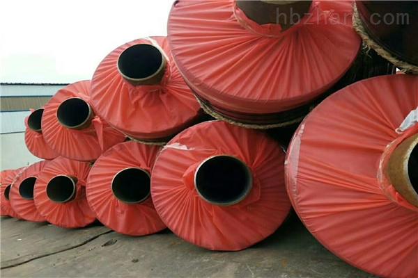 青岛塑套钢聚氨酯发泡保温管厂家现货
