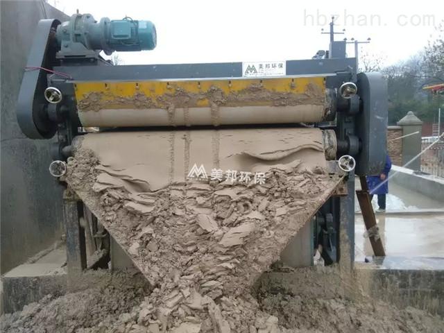 深圳生活污泥泥浆处理设备效果