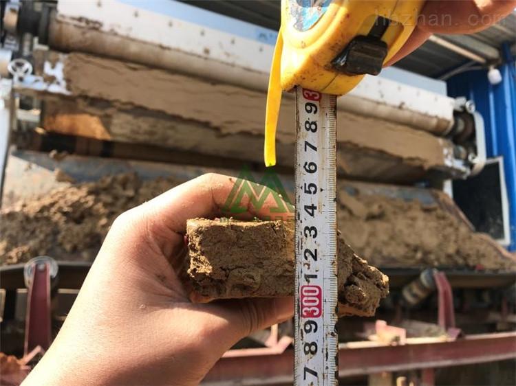 云南沙场带式泥浆处理设备效果
