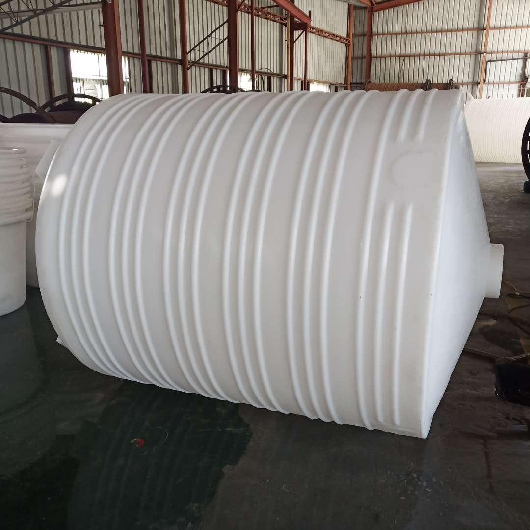 嘉兴3吨塑料搅拌桶 尖底加药箱