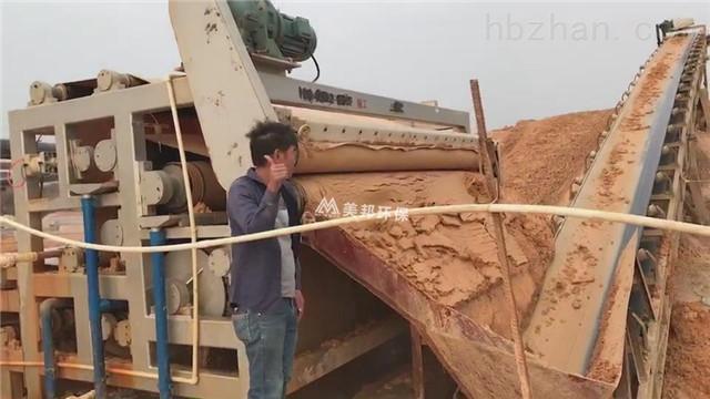 云南机制砂泥浆污泥脱水机效果