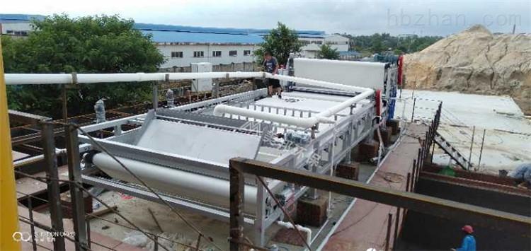 广州人造石厂泥浆脱水机厂家