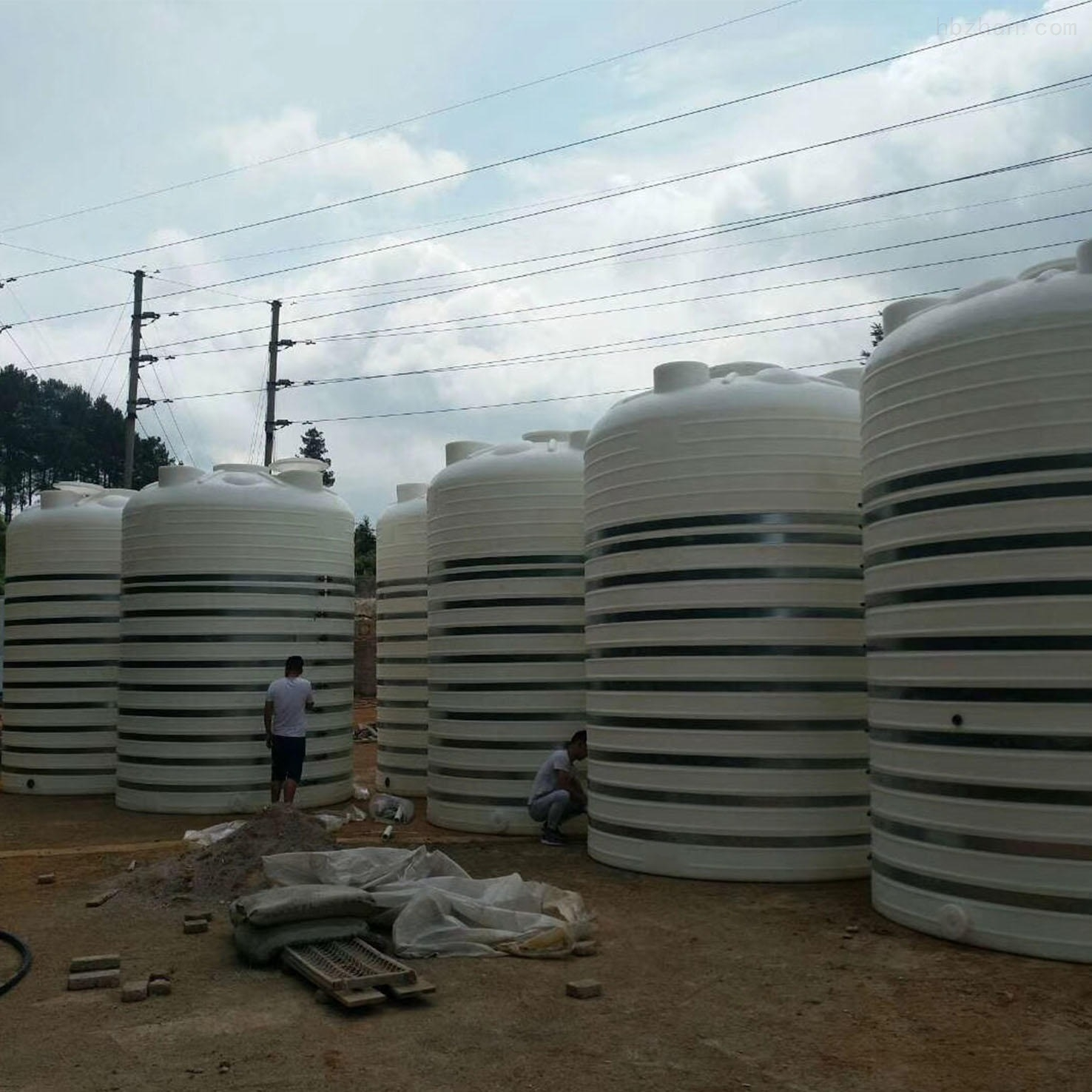 25吨塑料水箱 25立方硫酸储罐