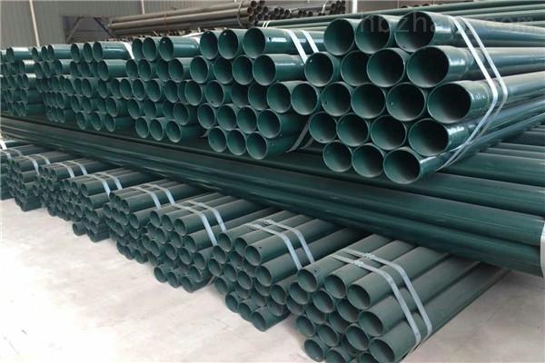 阳泉热浸塑钢质线缆保护管道供应