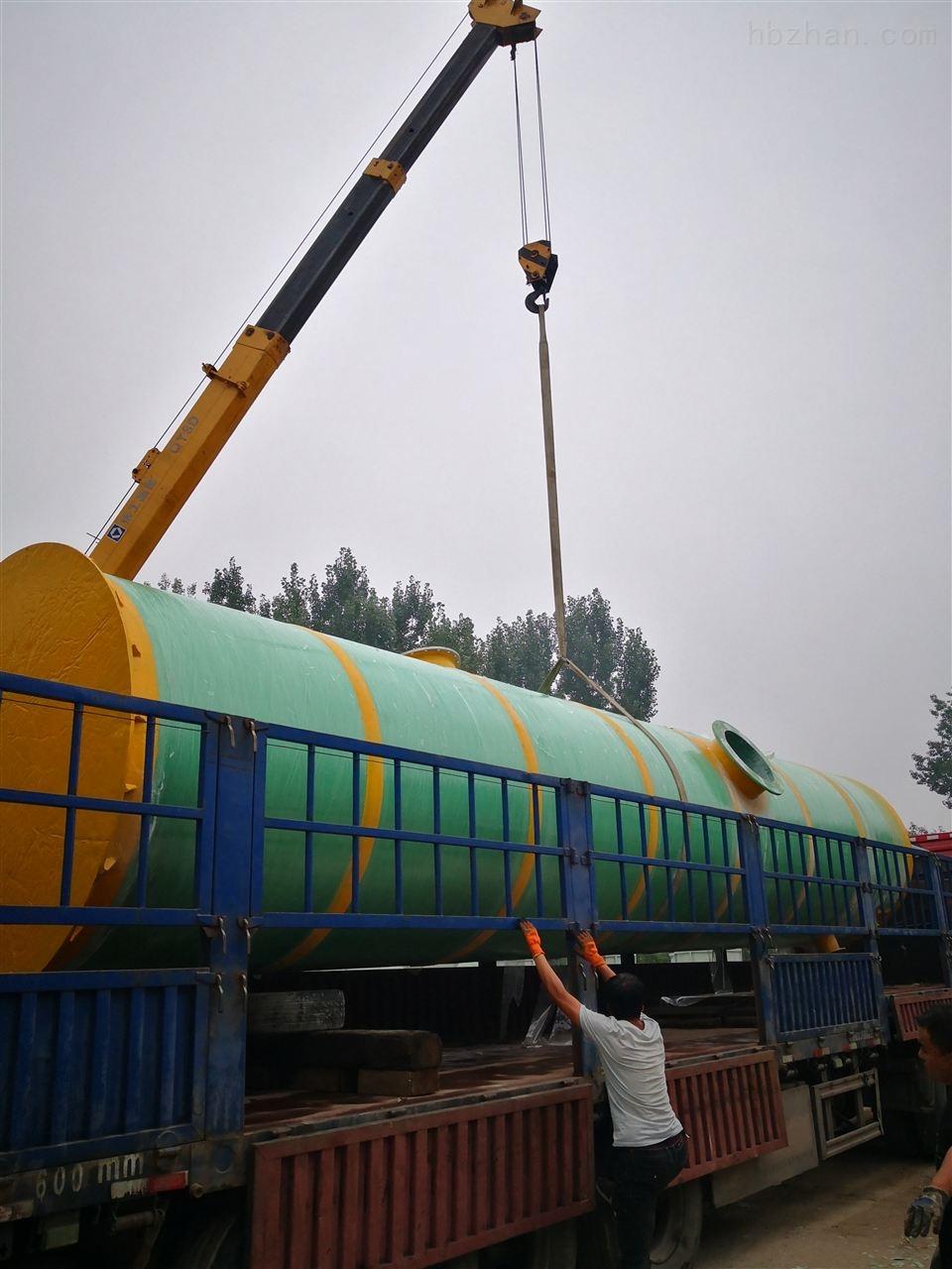 济南一体化废水提升泵站技术参数