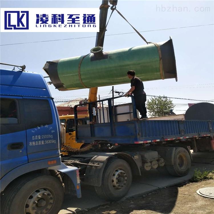 本溪服务区一体化提升泵站日常维护