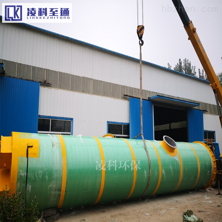 台州服务区一体化预制泵站免费设计方案