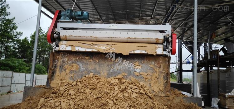 肇庆高铁建设打桩泥浆过滤设备效果