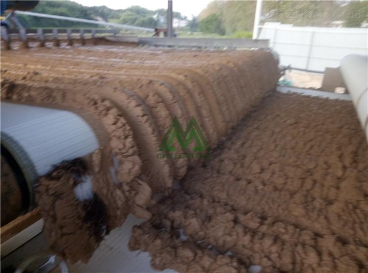 广东高铁建设打桩泥浆脱水设备效果