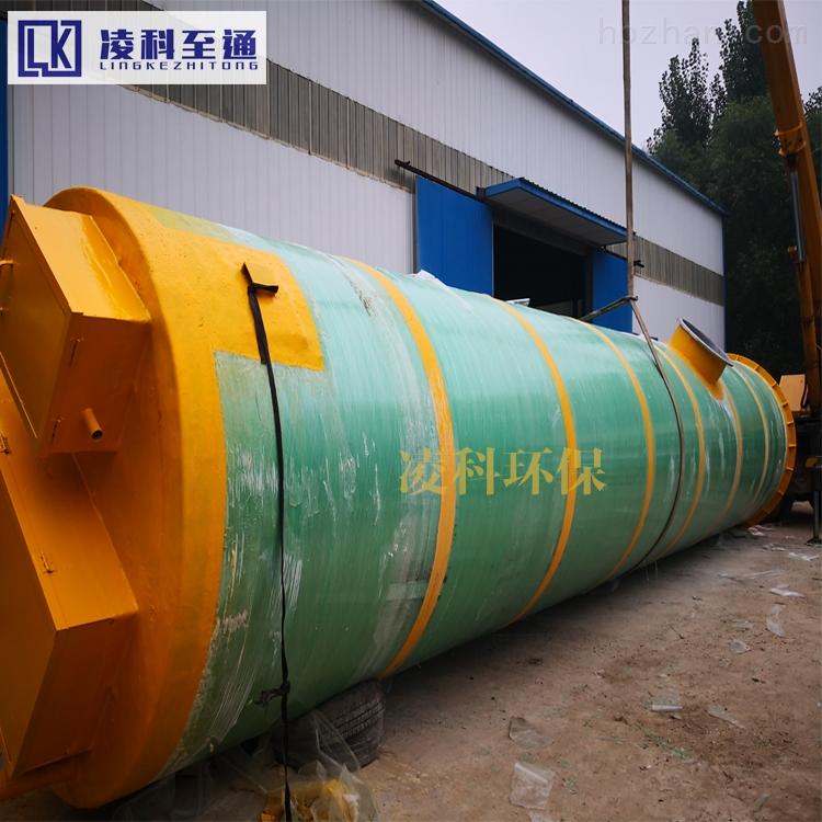 廊坊学校一体化预制泵站污水提升设备