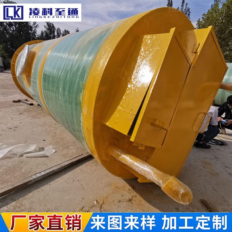郑州污水提升一体化泵站污水处理成套设备