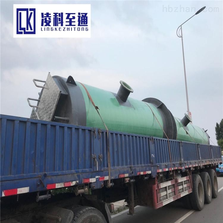 漳州食品厂一体化提升泵站工艺流程