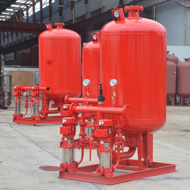 上海喜之泉下置式XZQ消防稳压给水设备,立式增压稳压设备,ZW(L)-1-X-100.16消防泵供水设备,消防泵示例图3