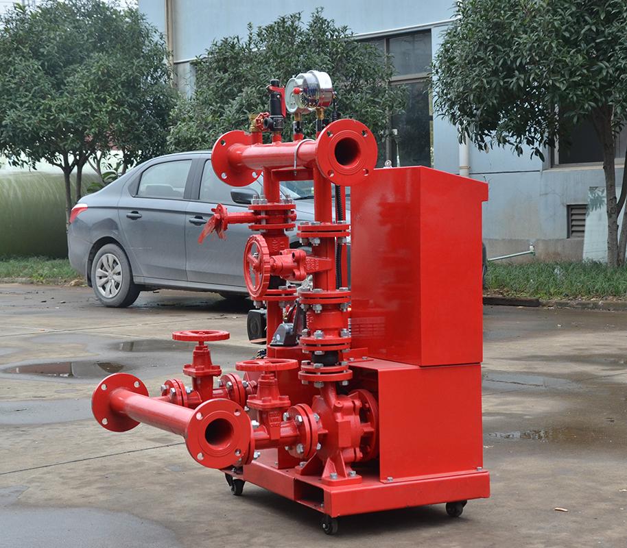 上海喜之泉ED3.0/10-2-GPM150 双动力消防泵,25kw小型双动力消防泵,消防泵示例图2